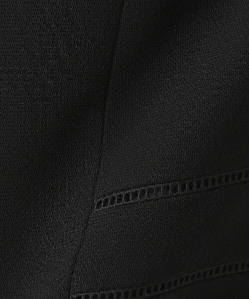BLACK FORMAL / ブラックフォーマル セットアップ | バーズアイ ジャケット+ワンピース | 詳細30