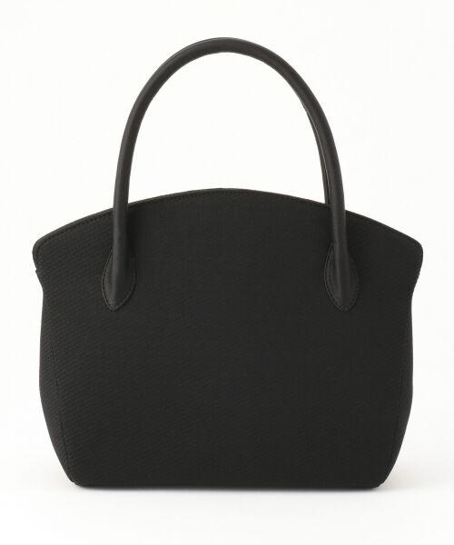 BLACK FORMAL / ブラックフォーマル ハンドバッグ | 【日本製】米沢織り マグネットバッグ | 詳細1