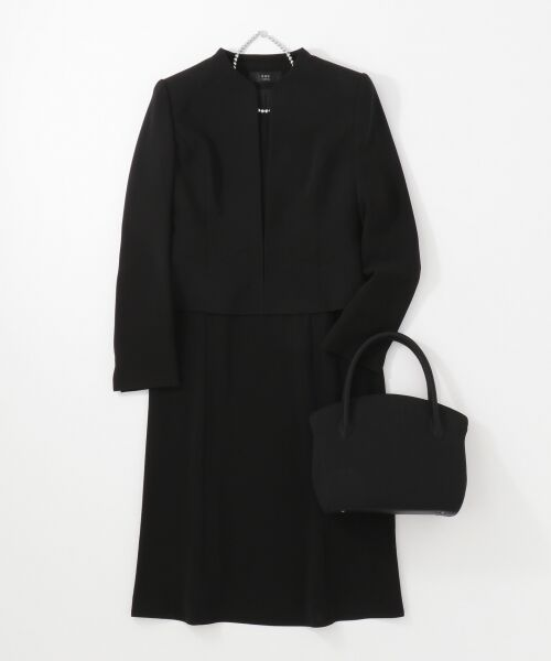 BLACK FORMAL / ブラックフォーマル ハンドバッグ | 【日本製】米沢織り マグネットバッグ | 詳細10