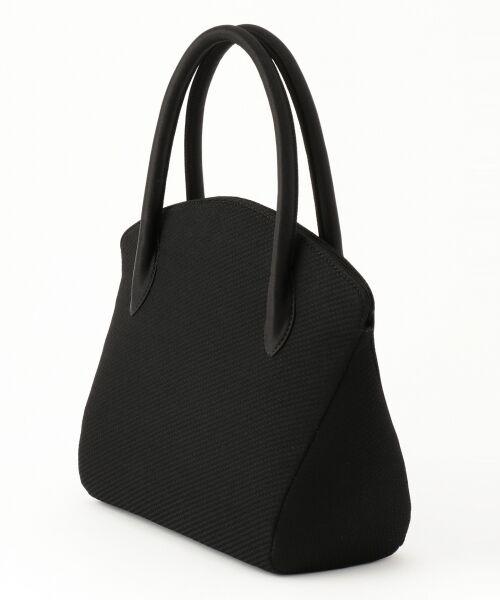 BLACK FORMAL / ブラックフォーマル ハンドバッグ | 【日本製】米沢織り マグネットバッグ | 詳細2