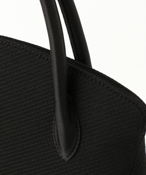 BLACK FORMAL / ブラックフォーマル ハンドバッグ | 【日本製】米沢織り マグネットバッグ | 詳細3