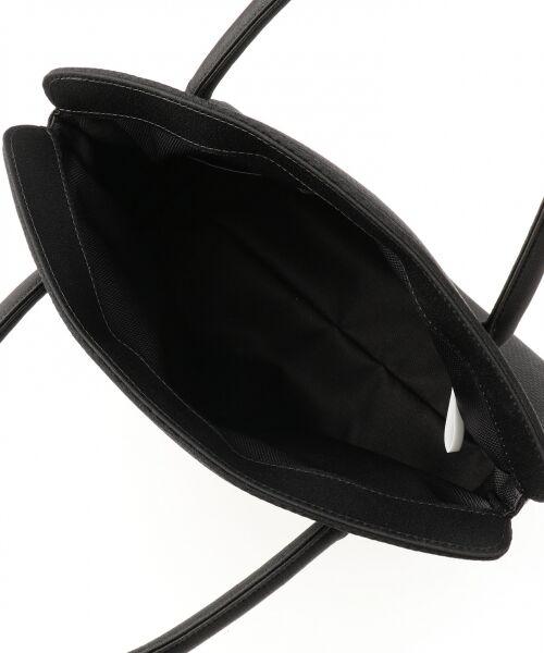 BLACK FORMAL / ブラックフォーマル ハンドバッグ | 【日本製】米沢織り マグネットバッグ | 詳細4