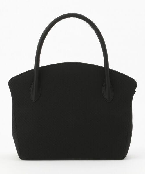 BLACK FORMAL / ブラックフォーマル ハンドバッグ | 【日本製】米沢織り マグネットバッグ | 詳細6