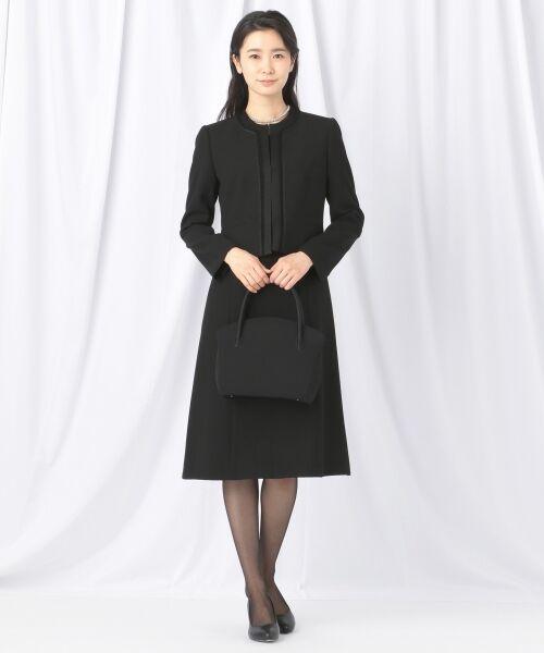 BLACK FORMAL / ブラックフォーマル ハンドバッグ | 【日本製】米沢織り マグネットバッグ | 詳細7
