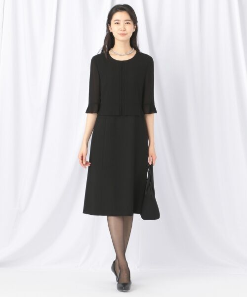 BLACK FORMAL / ブラックフォーマル ハンドバッグ | 【日本製】米沢織り マグネットバッグ | 詳細8