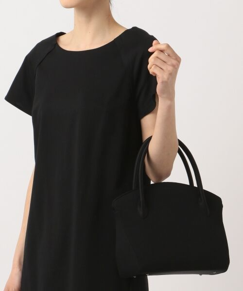 BLACK FORMAL / ブラックフォーマル ハンドバッグ | 【日本製】米沢織り マグネットバッグ | 詳細9