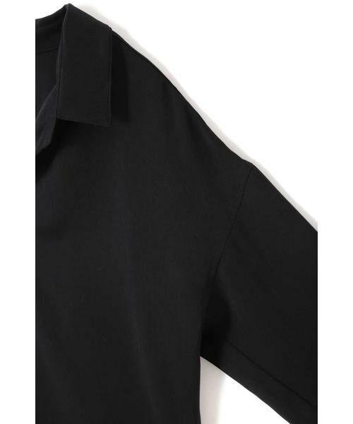BOSCH / ボッシュ シャツ・ブラウス | ピーチサテンスキッパーシャツブラウス | 詳細13