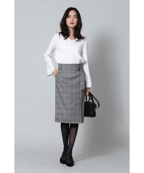 【オフィスで映える秋スカート】オンオフ問わず使いやすいと定評のある、BOSCHの人気スカートを集めました。