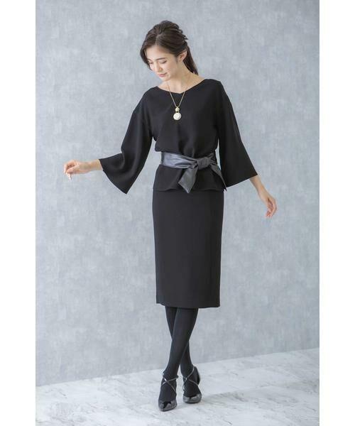 BOSCH / ボッシュ スカート | 《B ability》平二重スカート(ブラック)