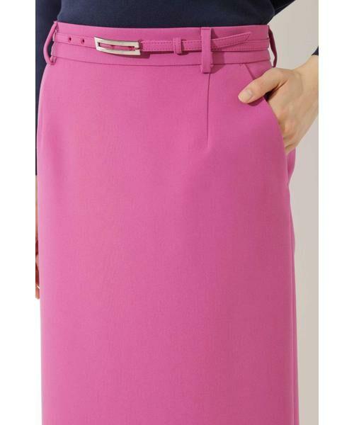 BOSCH / ボッシュ スカート | [ウォッシャブル]T/Rダブルクロスタイトスカート | 詳細5