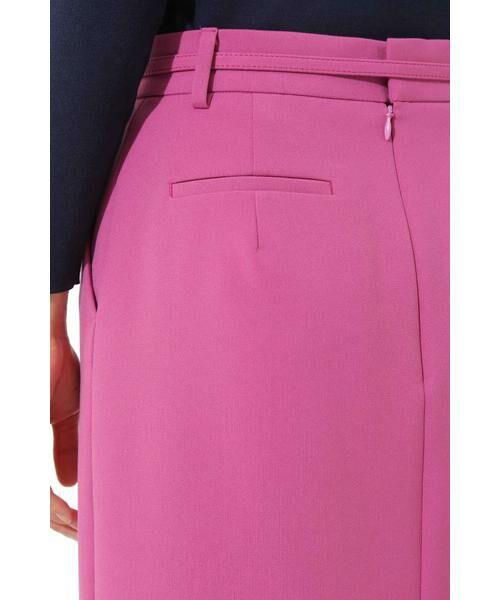 BOSCH / ボッシュ スカート | [ウォッシャブル]T/Rダブルクロスタイトスカート | 詳細6