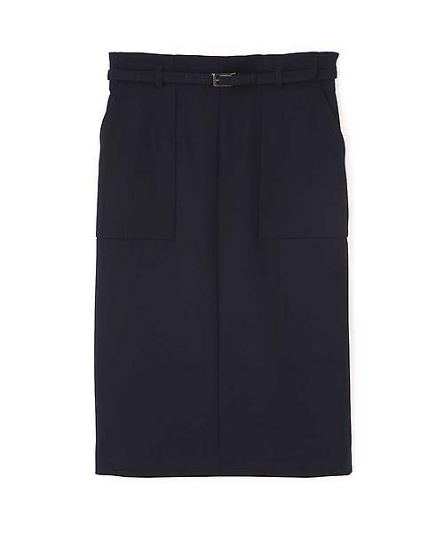 BOSCH / ボッシュ スカート | [ウォッシャブル]ベルテッドポケットタイトスカート | 詳細1