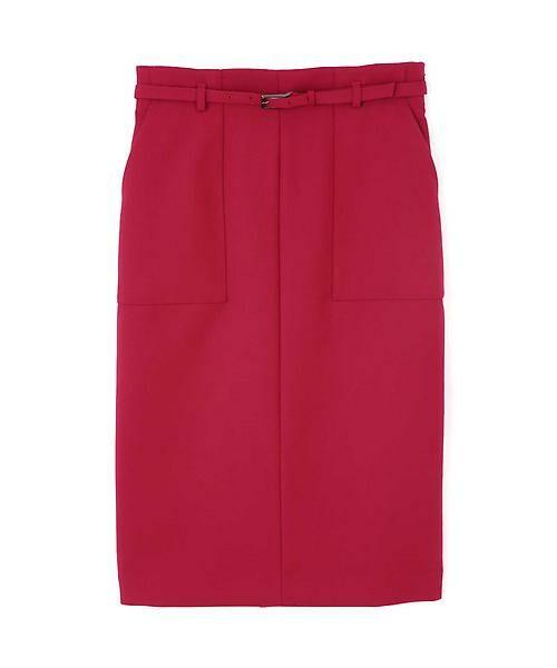 BOSCH / ボッシュ スカート | [ウォッシャブル]ベルテッドポケットタイトスカート | 詳細4