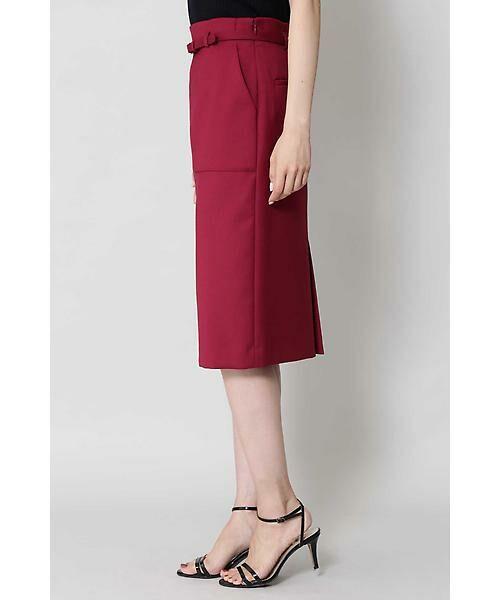 BOSCH / ボッシュ スカート | [ウォッシャブル]ベルテッドポケットタイトスカート | 詳細8