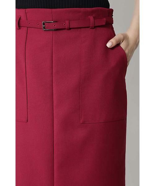 BOSCH / ボッシュ スカート | [ウォッシャブル]ベルテッドポケットタイトスカート | 詳細10
