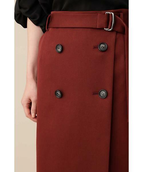 BOSCH / ボッシュ スカート | 《B ability》前釦ラップタイトスカート | 詳細9
