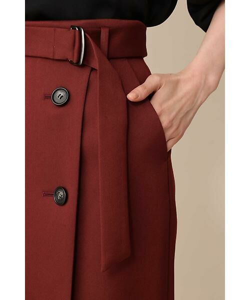BOSCH / ボッシュ スカート | 《B ability》前釦ラップタイトスカート | 詳細10