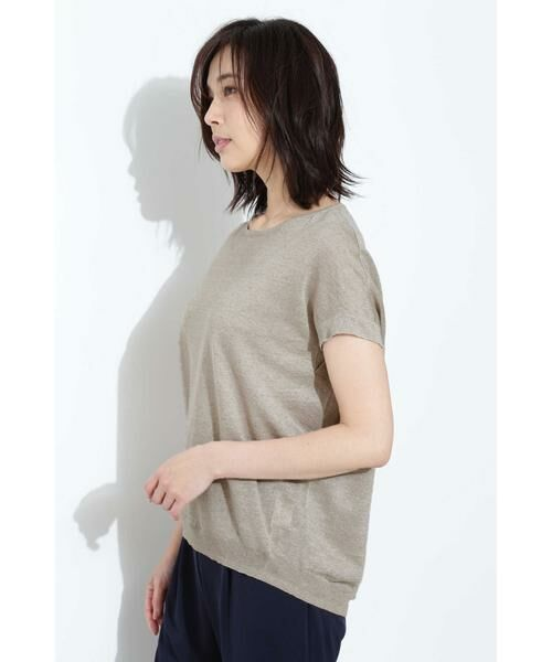 BOSCH / ボッシュ ニット・セーター | [ウォッシャブル]麻ハイゲージニット | 詳細3