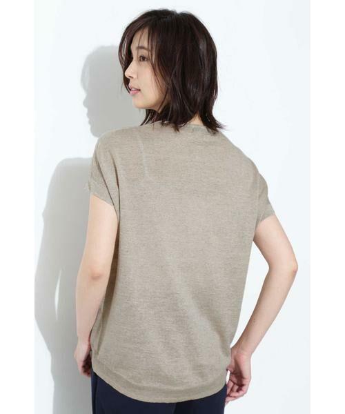 BOSCH / ボッシュ ニット・セーター | [ウォッシャブル]麻ハイゲージニット | 詳細4
