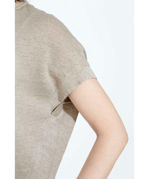 BOSCH / ボッシュ ニット・セーター | [ウォッシャブル]麻ハイゲージニット | 詳細6