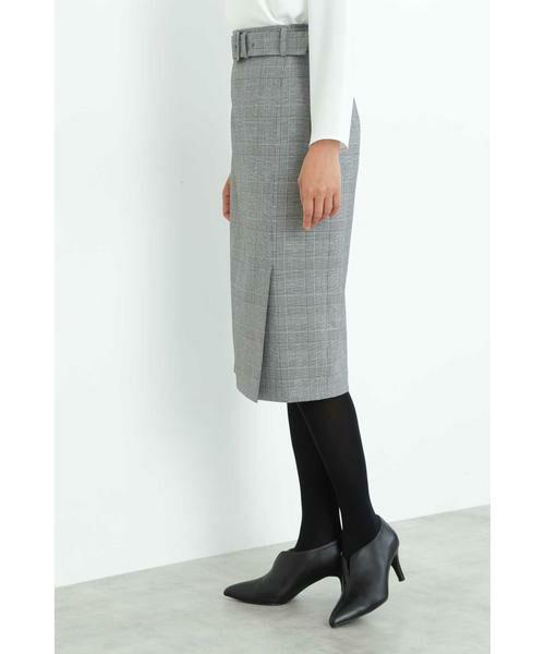 BOSCH / ボッシュ スカート | [ウォッシャブル]裏起毛チェックスカート | 詳細4