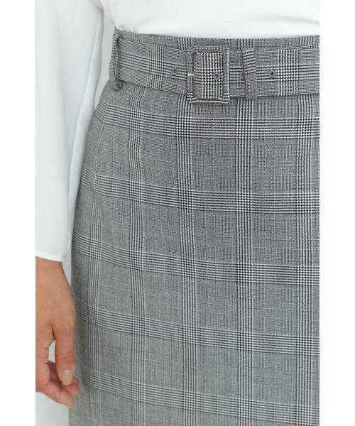 BOSCH / ボッシュ スカート | [ウォッシャブル]裏起毛チェックスカート | 詳細6