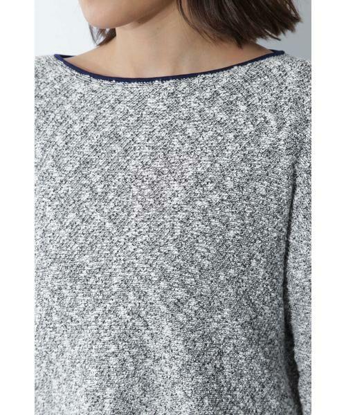 BOSCH / ボッシュ ニット・セーター | ◆スラブツイードニット | 詳細8