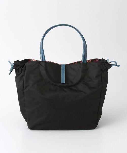 brontibayparis / ブロンティベイパリス ハンドバッグ | 【フランス製】ハンドバッグ 内側リバティ柄 「ナプレス」 | 詳細1