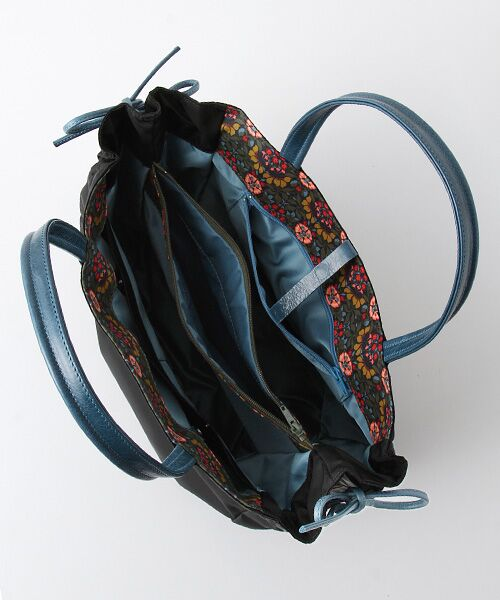 brontibayparis / ブロンティベイパリス ハンドバッグ | 【フランス製】ハンドバッグ 内側リバティ柄 「ナプレス」 | 詳細4