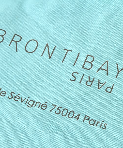 brontibayparis / ブロンティベイパリス エコバッグ | BRONTIBAYPARISミニエコバッグ | 詳細3
