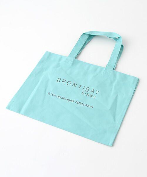 brontibayparis / ブロンティベイパリス エコバッグ | BRONTIBAYPARISミニエコバッグ(ミント)