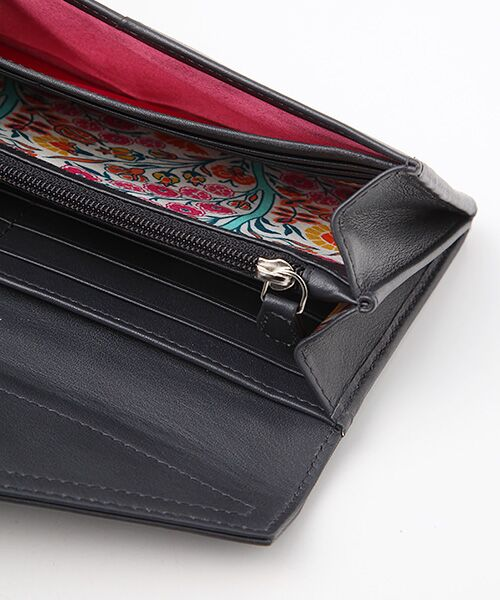 brontibayparis / ブロンティベイパリス 財布・コインケース・マネークリップ | レザー×リバティ ウォレット「アヤラ」 | 詳細3
