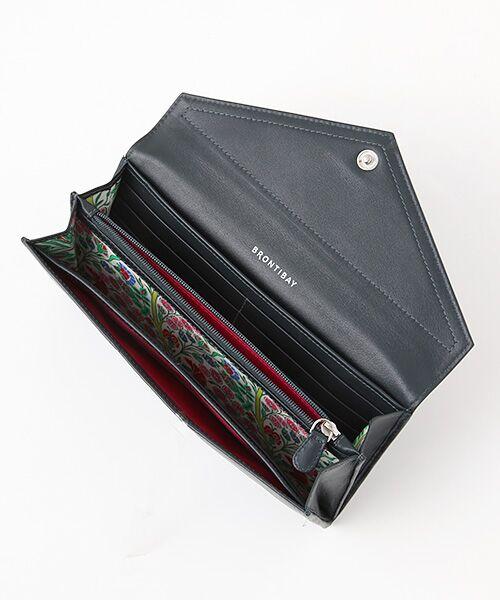 brontibayparis / ブロンティベイパリス 財布・コインケース・マネークリップ | レザー×リバティ ウォレット「アヤラ」 | 詳細2
