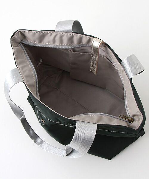 brontibayparis / ブロンティベイパリス トートバッグ   ナイロン折りたたみA4ハンドバッグ「ブリッツ」   詳細4