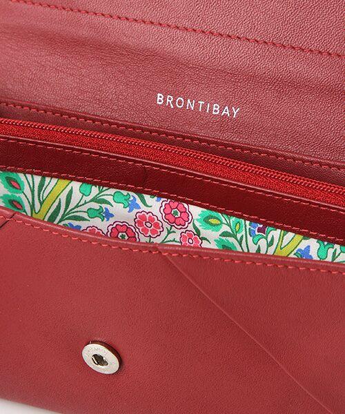 brontibayparis / ブロンティベイパリス 財布・コインケース・マネークリップ | レザー×リバティ ウォレット「アヤラ」 | 詳細4