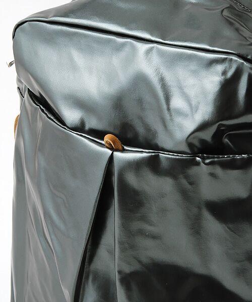 brontibayparis / ブロンティベイパリス リュック・バックパック | フランス製メタリックカラーリュックサック「フラッシュバック」 | 詳細8
