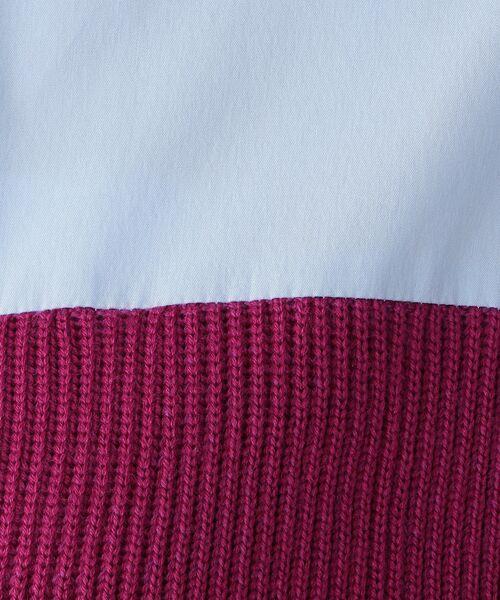 CAST: / キャスト コロン シャツ・ブラウス | ニットコンビシャツ | 詳細15