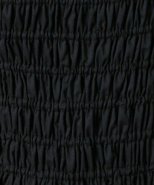 CAST: / キャスト コロン シャツ・ブラウス | シャーリングブラウス | 詳細13