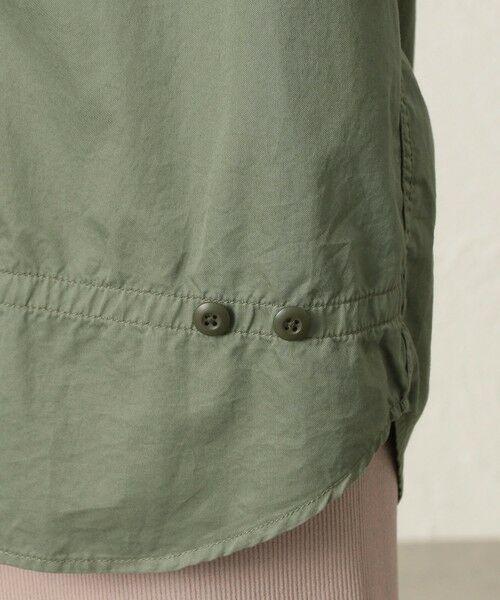 CAST: / キャスト コロン シャツ・ブラウス   【TVドラマ着用】ガーメントダイオーバーシャツ   詳細15