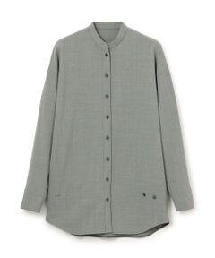 <br /><br />【CAST:キャストコロン 2020年秋冬アイテム】<br /><br />【Design】<br>シンプルかつシックな色味が魅力のデザインシャツ。<br>サイドの釦と組み合わせる事でカシュクールにも着用でき、2wayでお楽しみ頂けます。<br>センターから斜めにあしらったボタンでかっちりしすぎず、肩の力を抜いた洗練された着こなしが完成します。<br>【Fabric】<br>イタリア糸を使用して国内で生地に仕上げたプレミアム素材です。<br>光沢があり、表面が滑らかで毛羽立ちが少なく膨らみがあります。<br><br>【Styling】<br>ウエストタックテーパードパンツ(N5R07489)、セットアップジャケットと(N5E04489)とセットアップスタイルを楽しめます。<br>スッキリとしたラインのパンツに合わせてモードに着用するのがおすすめ。<br>羽織としても着用出来るので持っていて損のないアイテムです。<br><br><br />●洗濯:手洗い可<br /><br /><br><br>※この商品はサンプルでの撮影を行っています。<br>実際の商品とイメージ、サイズ、品質表示、原産国等が異なる場合がございます。<br /><br /><br><br>※店頭及び屋外での撮影画像は、光の当たり具合で色味が違って見える場合があります。商品の色味は、スタジオ撮影の画像をご参照ください。<br /><br /><br>モデル:H176 B81 W62 H89 着用サイズ:M