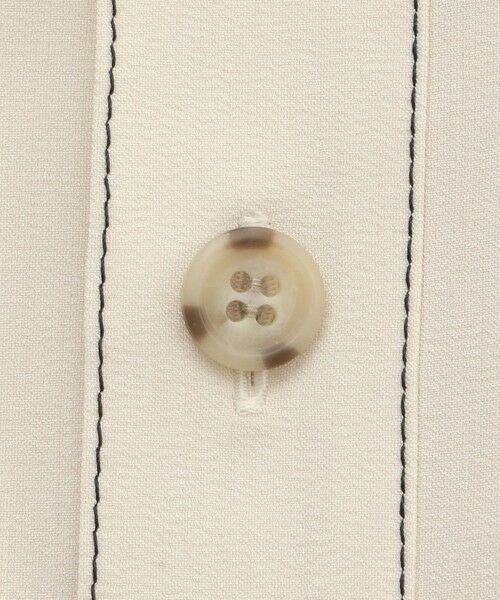 CAST: / キャスト コロン シャツ・ブラウス   バックボタンシャツ   詳細12