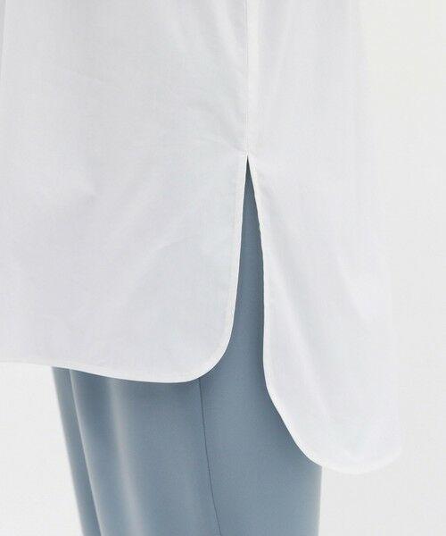 CAST: / キャスト コロン シャツ・ブラウス | ニットコンビチュニックシャツ | 詳細12