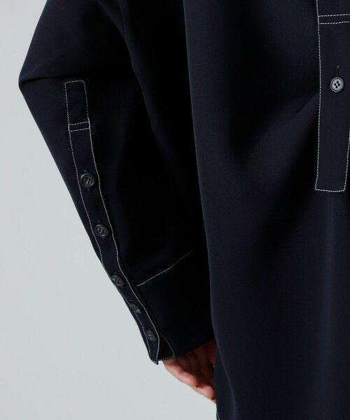 CAST: / キャスト コロン シャツ・ブラウス | バックボタンシャツ | 詳細12