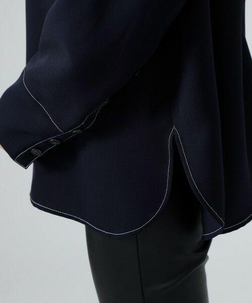 CAST: / キャスト コロン シャツ・ブラウス | バックボタンシャツ | 詳細13