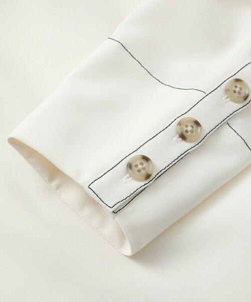CAST: / キャスト コロン シャツ・ブラウス | バックボタンシャツ | 詳細15