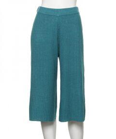 【パジャマ・ルームウェア】 リブ フレアパンツ RIB FLARE PANTS (C234)
