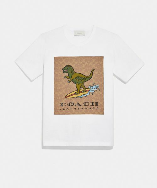 COACH / コーチ Tシャツ   【日本限定】シグネチャー サーフ レキシー Tシャツ   詳細1
