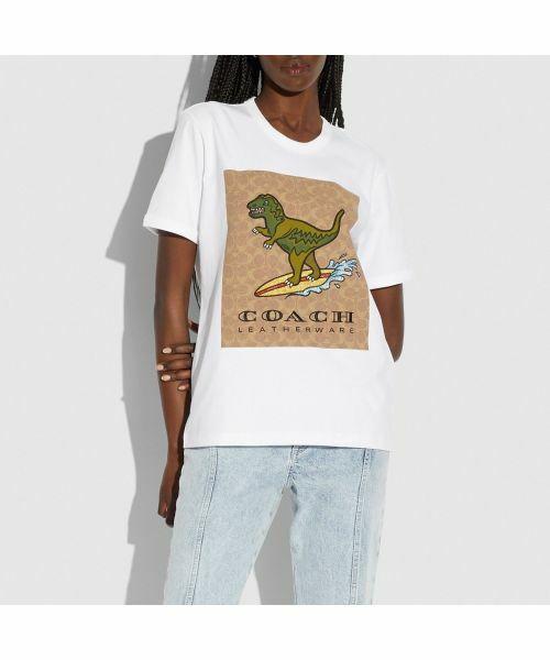 COACH / コーチ Tシャツ   【日本限定】シグネチャー サーフ レキシー Tシャツ   詳細2