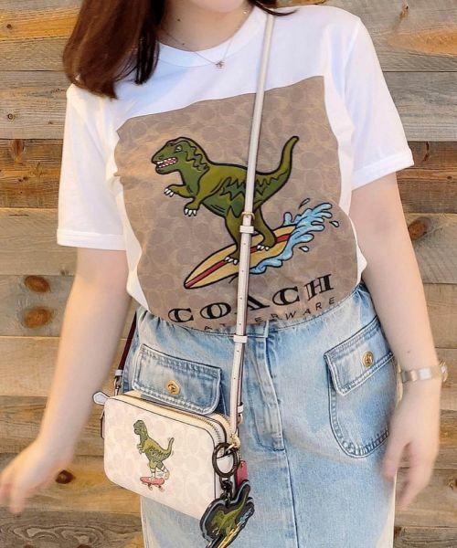 COACH / コーチ Tシャツ   【日本限定】シグネチャー サーフ レキシー Tシャツ   詳細4