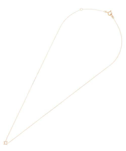 COCOSHNIK / ココシュニック ネックレス・ペンダント・チョーカー | ダイヤモンド 伏せ込み ひし形 ネックレス(小) | 詳細1